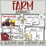 Farm Animals Reading and Writing Activities