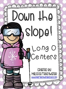 Down the Slope! Long O Word Work Centers