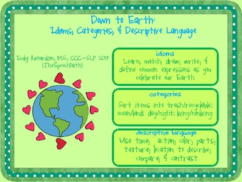Down to Earth: Idioms, Categories, and Descriptive Language