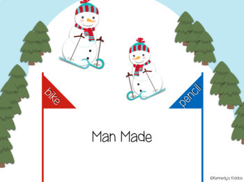 Downhill Skiing: Natural or Man Made (Great for Google Classroom!)