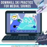 Downhill Snow Skiing - Medial Sounds Digital Boom Flashcar