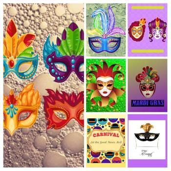Download Paper Mardi Gras Theme