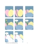 Downloadable Bunny, Eggs, and A Daisey Cut and Paste Pattern Packet