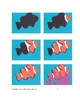 Downloadable Clown Fish Cut and Paste Art Project Pattern Packet