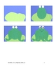 Downloadable Frog and Lily Cut and Paste Art Project Pattern Packect