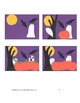 Downloadable Halloween Night Cut and Paste Art Project Pattern Packet