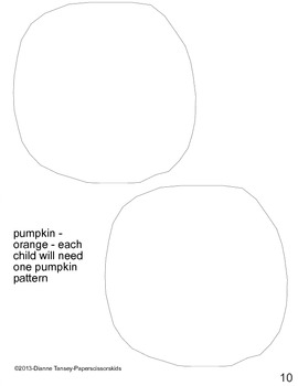 Downloadable Owl and Jack-O'Lantern Cut and Paste Art Project