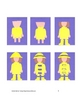 Downloadable Rain Children Cut and Paste Art Project Pattern Packet