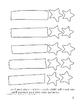 Downloadable Stocking and Stars Cut and Paste Pattern Packet