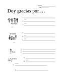 Doy Gracias ( I am thankful for..)