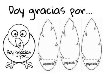 Doy gracias por... ¡Pavo, Pavito, Pavo!