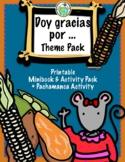 Doy gracias por... Thanksgiving Give Thanks Spanish Minibo