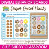 Dozen Donut Points Digital Behavior Board   Distance Learning