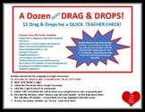 DISTANCE A Dozen Drag and Drops 12 MATH 4, 5, 6, and 7 SKI
