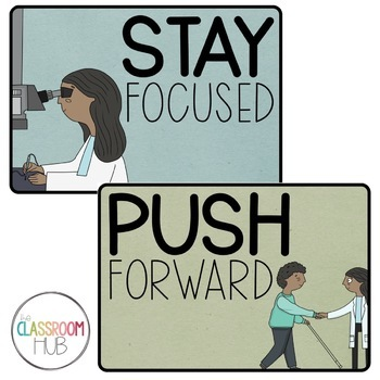 Dr Patricia Bath - Encouraging Word Wall Posters