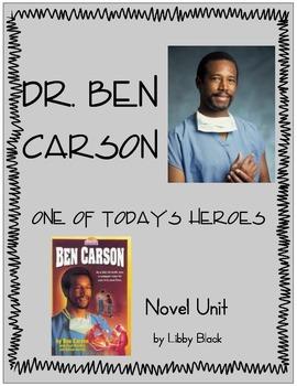Dr. Ben Carson- Novel Unit