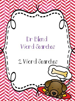 Dr Blend Word Searches!