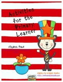 Dr. Seuss Inspired Dr. Cat Activities: Rhyming, Numbers, Reading, and Graphing!