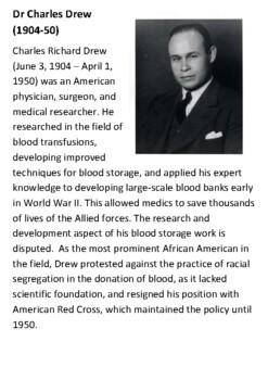 Dr. Charles Drew Handout