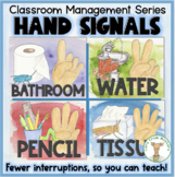 Quiet Hand Signals - Classroom Management Tips