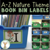 Library Book Bin Labels - Nature Theme