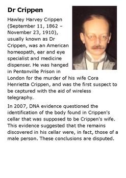 Dr Crippen Handout