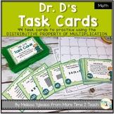Dr. D's Task Cards {DISTRIBUTIVE PROPERTY OF MULTIPLICATION}