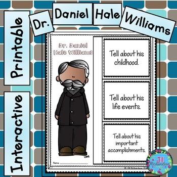 Dr. Daniel Hale Williams Writing