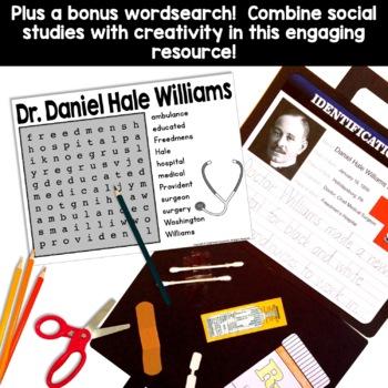 Black History Craft - Dr. Daniel Hale Williams