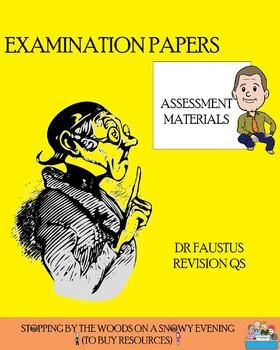 Dr Faustus - Exam-style Revision Questions