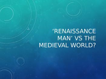 Dr Faustus - Renaissance Man vs the Medieval World
