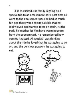Dr. Fraida: Self Regulation Paired Story Amusement Park