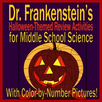 Halloween Themed Activities for Middle School Science