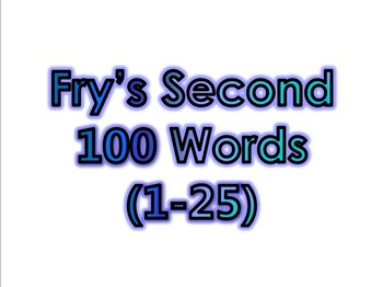 Dr. Fry's 1000 Sight Words (1-1000) + Bonus Fry's 100 Picture Nouns