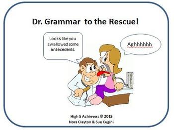 Dr. Grammar Cures Antecedentgalapinitis