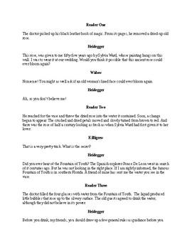 Dr. Heidegger's Experiment Readers Theater Adaption