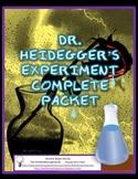 Dr. Heidegger's Experiment - Complete Story Packet, Activities, Quiz & Keys
