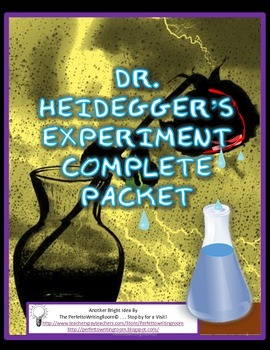 persuasive 5 paragraph essay on dr heidegger s experiment Short stories - literary devises title: dr heidegger's experiment cecilia liu and erin skinnider point of view: third person- limited omniscient.