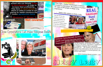 Medical Law Cases - Hobby Lobby - Kevorkian - Joan Rivers - 3 FREE POSTERS