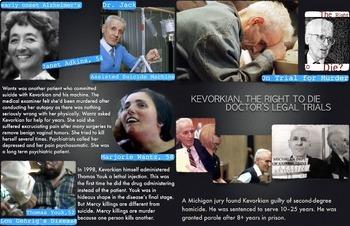 Dr. Jack Kervorkian ~ FREE POSTER ~ Assisted Suicide ~ Rig
