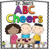 Dr. Jean's ABC Cheers {Alphabet, cards, and chart}