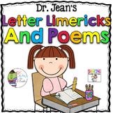 Dr. Jean's Letter Limericks and Poems