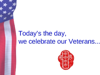 Dr. Jean's Veteran's Day Song Powerpoint