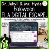 Dr. Jekyll & Mr. Hyde Halloween Digital Escape Room