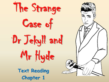 Dr Jekyll & Mr Hyde - Text Reading - Chapter 1