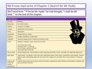 Dr Jekyll and Mr Hyde - 16 Lessons + Revision Guide