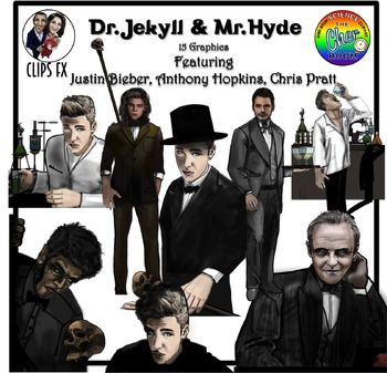 Dr Jekyll and Mr Hyde Clipart