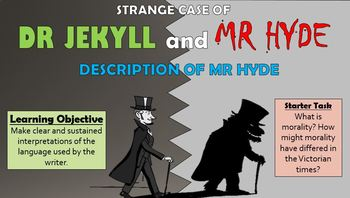 Dr Jekyll and Mr Hyde: Description of Mr Hyde!