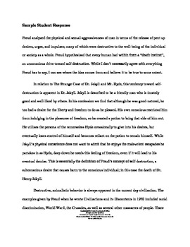 Dr. Jekyll and Mr. Hyde Expository Essay