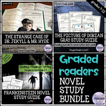 Frankenstein/Dr Jekyll and Mr Hyde/The Picture of Dorian Gray BUNDLE